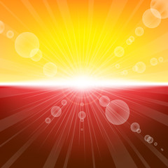 Sunlight summer background
