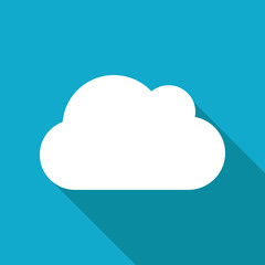 Vector cloud icon. Eps10