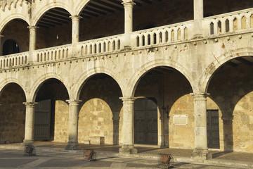Colon Palace in Santo Domingo, Dominican Republic.
