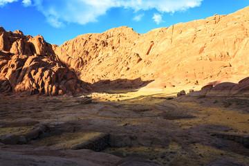 Views of the Sinai Mountains