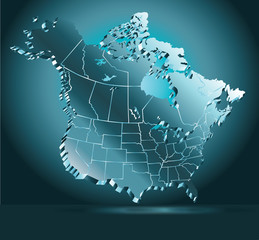 North American Map