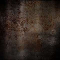 Scratched grunge rusty metal background