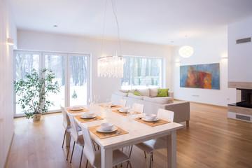 Modern and cozy interior