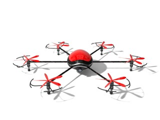 the red drone concept