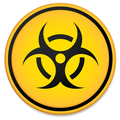 Biohazard symbol, sign