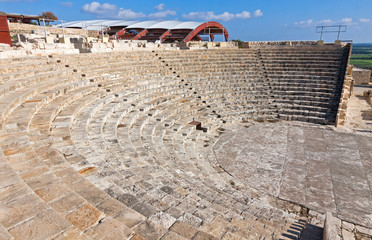 Ancient theater in Kourion, Cyprus