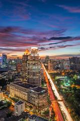 road to city bangkok