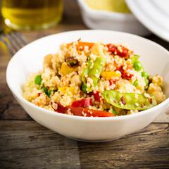 Couscous mit Gemüse - Couscous with veggies