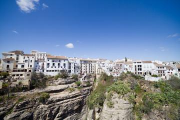 Old City of Ronda in Spain