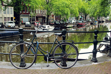 The bicycle, Amsterdam