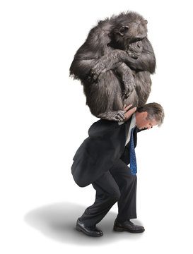Monkey on Your Back Drug Addiction Financial Burden