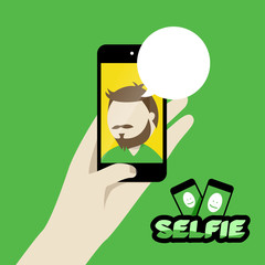 Phone with selfie