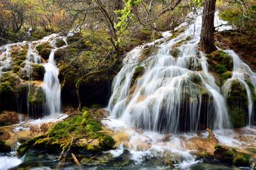 Waterfall in Jiuzhaigou,Sichuan China
