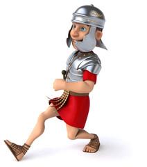 Printed kitchen splashbacks Knights Roman legionary soldier.