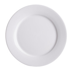 plate, plate on background. ceramic plate on a background
