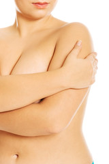 Overweight female body