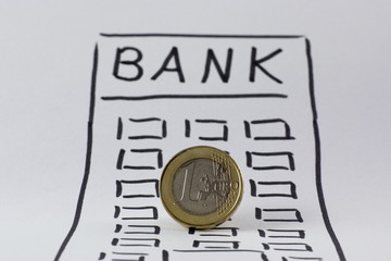 1 Euro-Münze, Bank