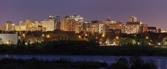 Skyline of Regina, Saskatchewan