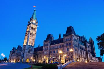 Poster Canada Canada Parliament Building in Ottawa
