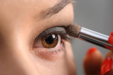 Brown Eye Smoky Makeup