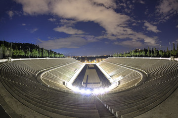 Panathenaic olympic stadium  in Athens, Greece
