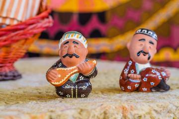 Ceramic Uzbek figurine