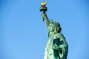 Aluminium Prints Artistic monument Statue of Liberty