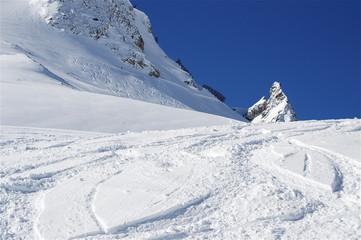 Wartherhorn im Schneekleid