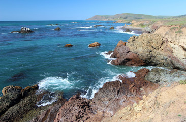 Estero Bluffs State Park near Big Sur California