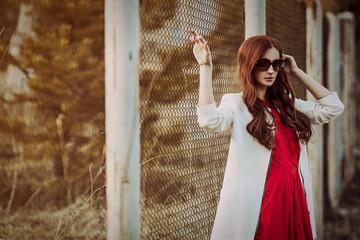 Redhead vasilisa, lampoons strip poker