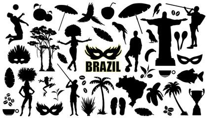 brasil silhouettes