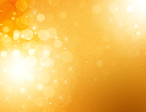Abstract yellow graphics background