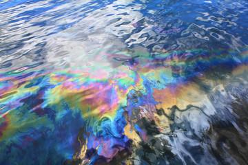 Oil spill in Pearl Harbor