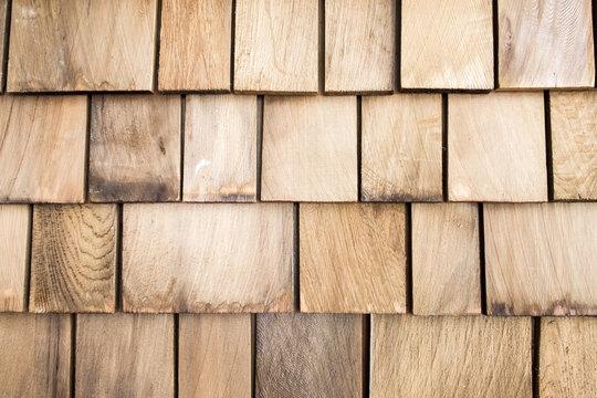 Wooden roof texture