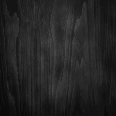 Dark Black Wood Texture.