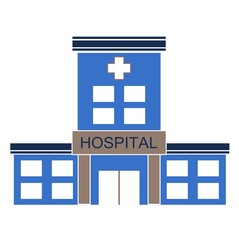 Hospital Building - Illustration