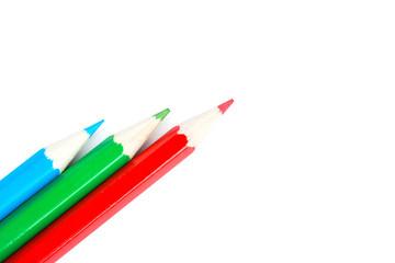 Three pencil
