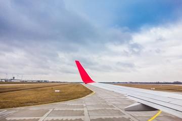 Startbahn am Flughafen München