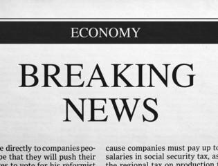 Breaking news headline
