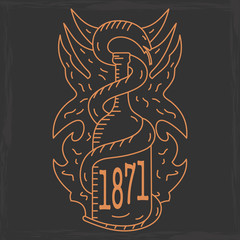 alcohol emblem