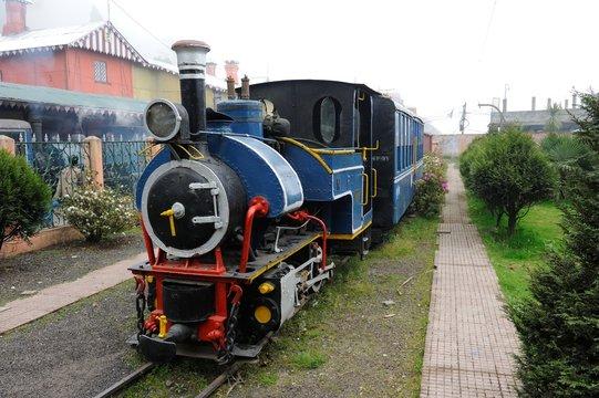 Toy Train in Darjeeling, Indien