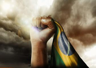 Povo Brasileiro não foge à luta