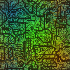 Circuits abstract generated texture