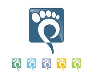 podiatry foot logo 58
