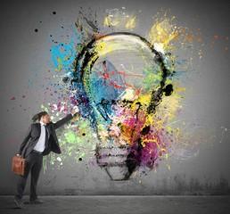 Fototapete - Inspiration to creative ideas