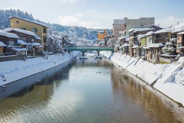 Wall Mural - Winter in Takayama, sightseeing travel japan