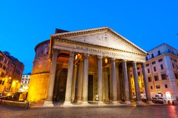 Roma Pantheon Piazza della Rotonda