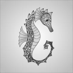 Vector Seahorse