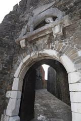 Il portone d'ingresso al Castello di Gorizia