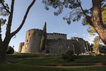 Panoramica del castello di Gorizia